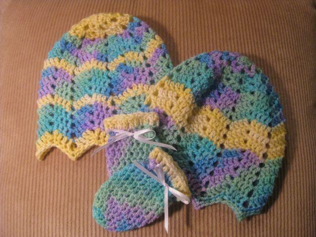 Baby Ripple Bonnet Free Crochet Pattern Wool And Stitch