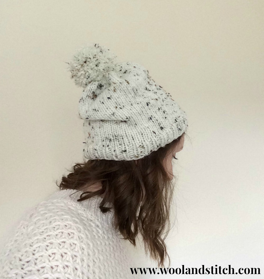 MARLEY CHUNKY HAT – KNITTING PATTERN – Wool and Stitch