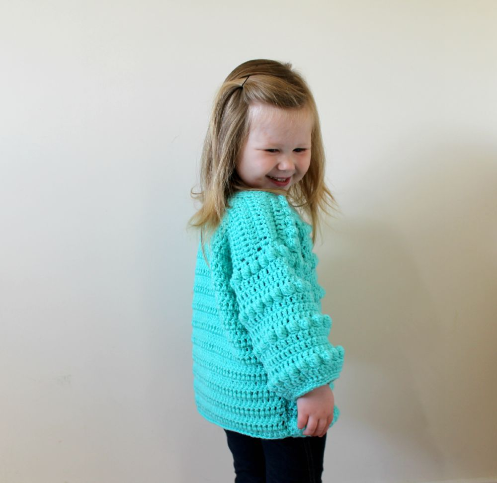 9e456fa49 MINI KIDS BOBBLE SWEATER – FREE CROCHET PATTERN – Wool and Stitch