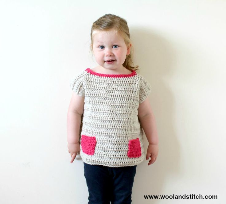 bdc278a380d MINI KIDS POCKET TOP – FREE CROCHET PATTERN