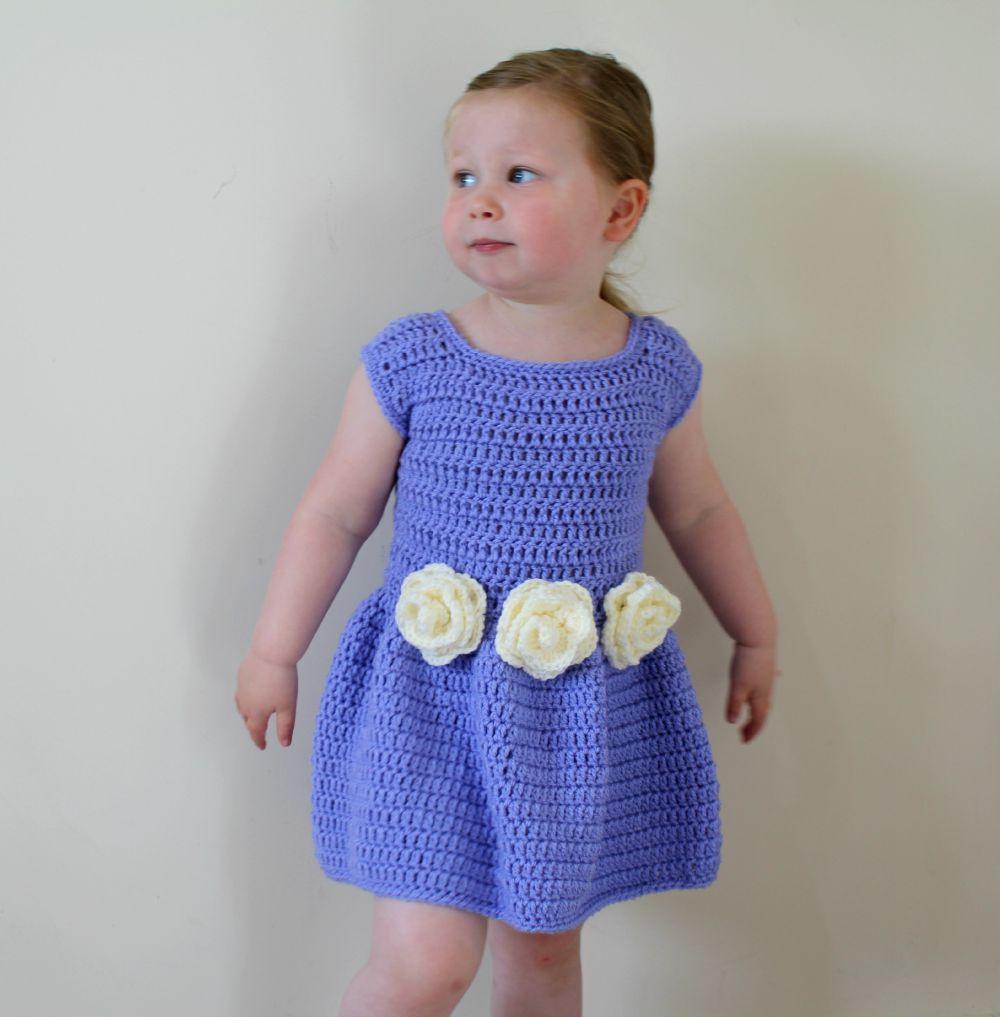 Flower Bridesmaid Dress Free Crochet Pattern Wool And Stitch